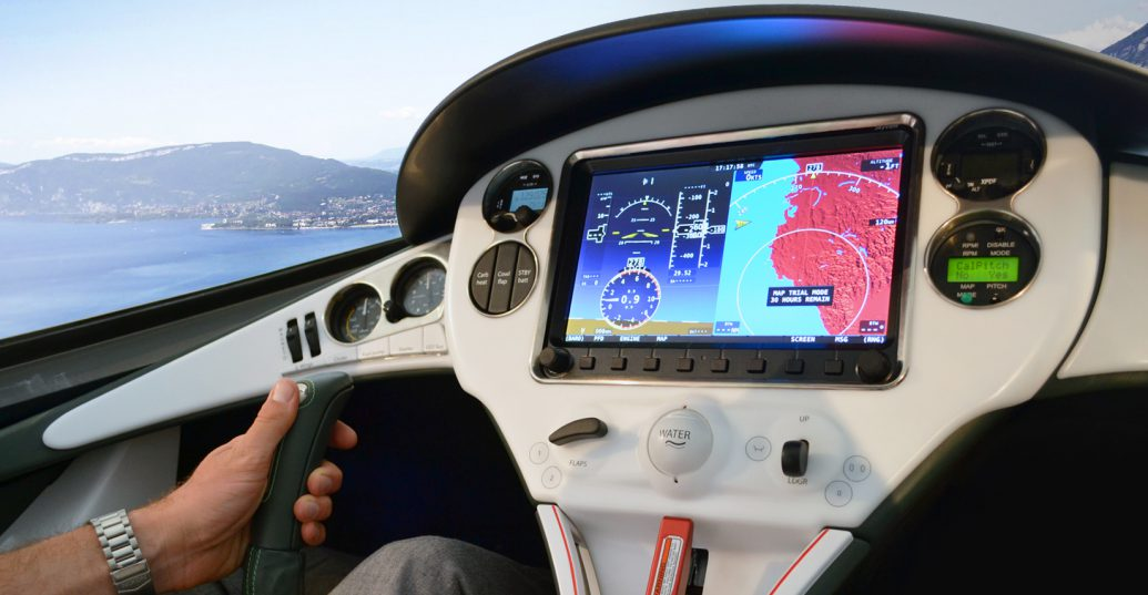 Interface intuitive du cockpit de l'AKOYA